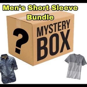 Other - Reseller mystery boxes wholesale Men short sleeve